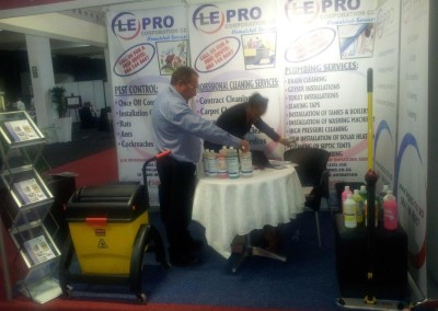 Cleaning services Exhibition